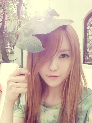 t-ara hyomin umbrella